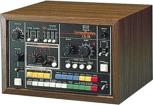 Roland CR-78 analog drum machine.