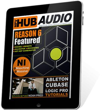 MPVHub Audio on an iPad