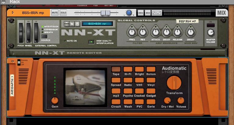 Use the Audiomatic Retro Transformer