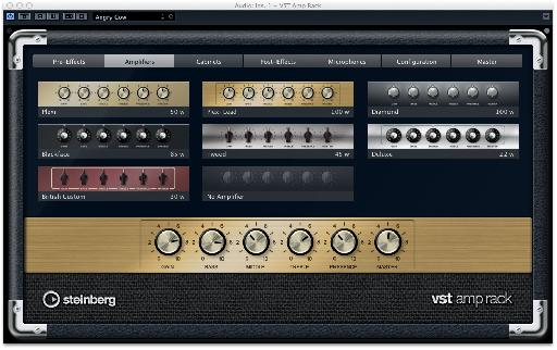 Using an amp simulator plug-in is a great way to add bite to a clean recording.