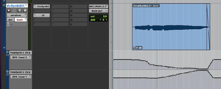 Automated Vowel Shaper Result in ProTools