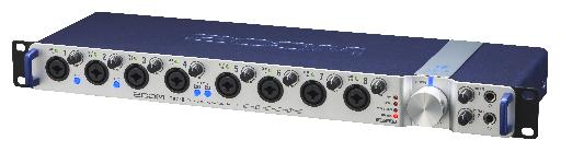 Zoom TAC-8 features 8 XLR/TRS inputs.