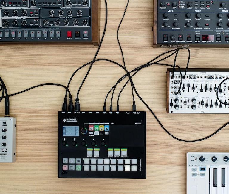 Squarp Instruments Pyramid MKII setup