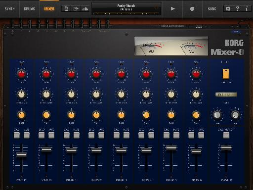 Pic 5 - Korg iPolysix Mixer