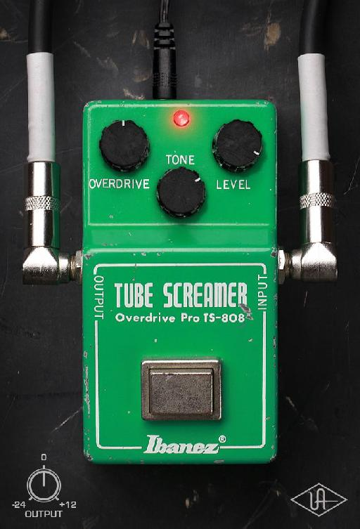 Ibanez Tube Screamer TS808 in the UA Distortion Essentials.