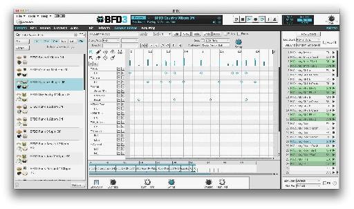 Load, edit and program grooves using the excellent built-in sequencer.