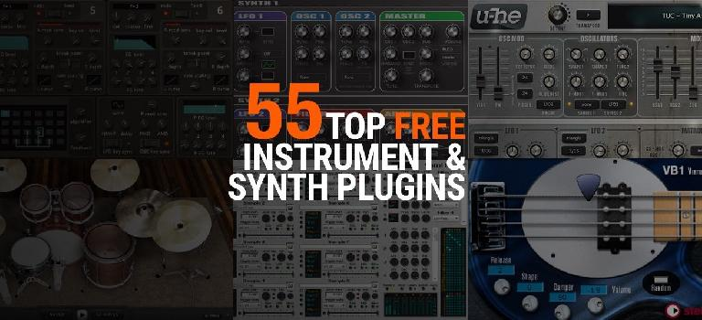55 Top FREE Instrument & Synth Plugins