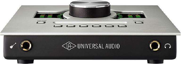 The UA Apollo Twin USB (Front).