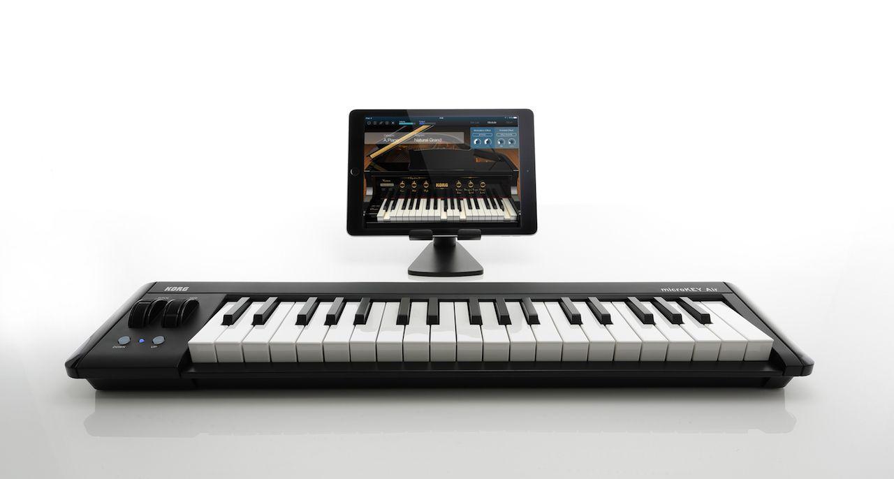 25 Tasten Korg microKEY Air USB Midi Keyboard Bluetooth für iPad iPhone Mac