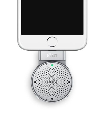 Melo Audio Lolly Digital 3D Microphone with iPhone