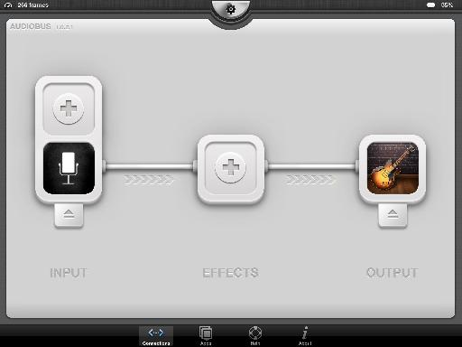 Recording BossJock into GarageBand via AudioBus.