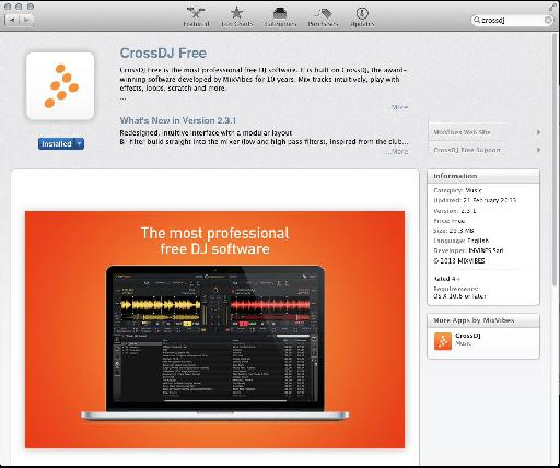 (Pic 1) CrossDJ Free on the App Store.
