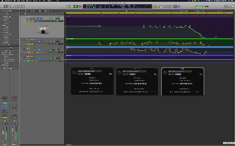 Your Logic Pro X plugin will look like this.