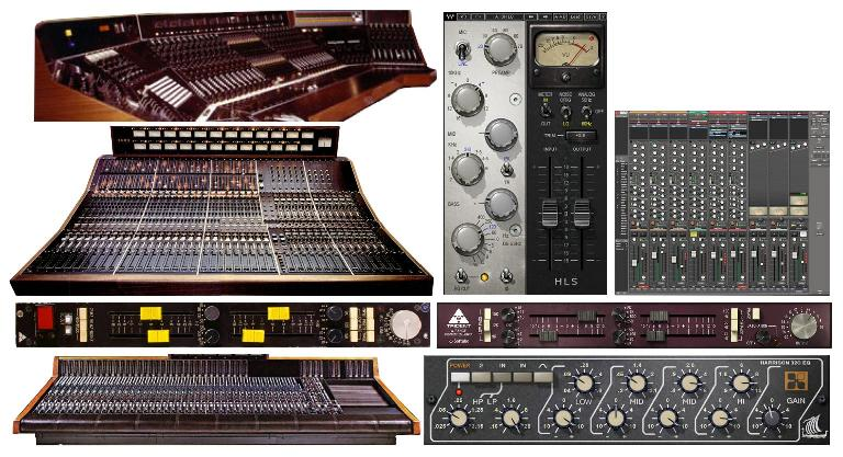 Consoles and emulations of Helios, Trident, and Harrison gear