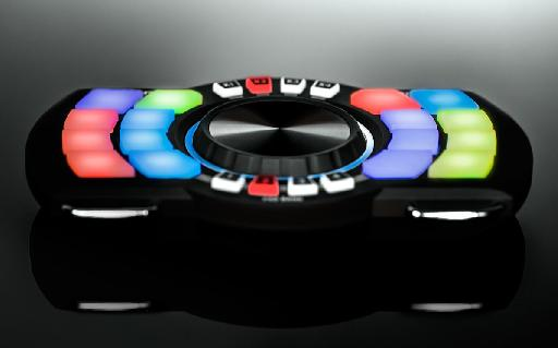 It may look staionary in this photo, but the Numark Orbit is something you'll want to twist and turn with.