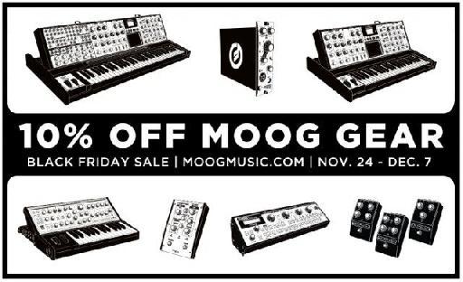 Moog Music Cyber Monday Deal