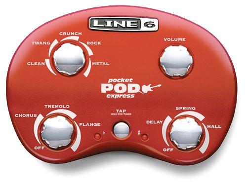 Line6 Pocket Pod Express