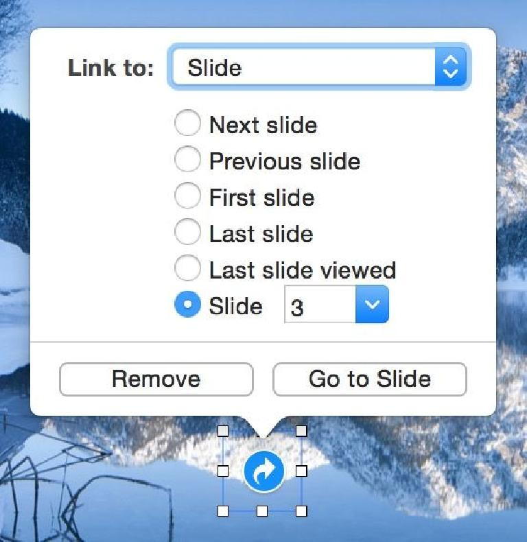 Select an object, then Command-K to add a link to it.