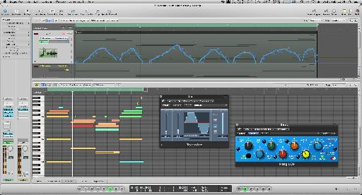 The downsample control is also automated.