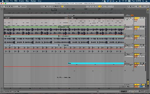 Multi-track duplication edit.
