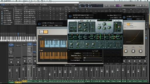 Fig 1 Some of the tools in Logic X for tweaking sampled drums / instruments for better playability, expression, and realism.