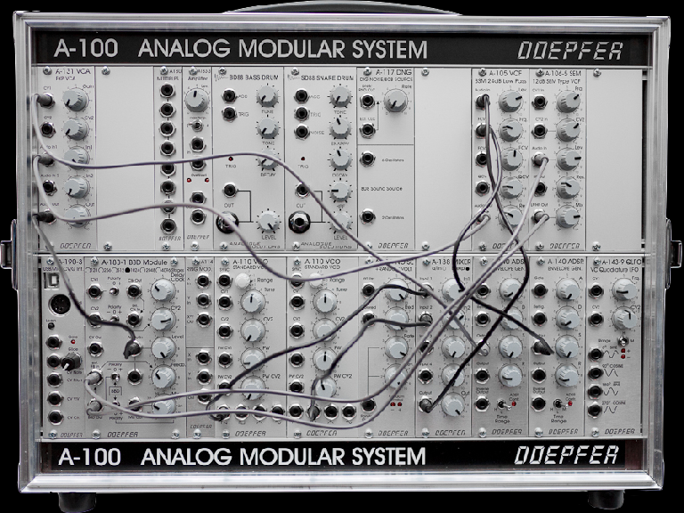 Fig 2 Eurorack Modular Synthesizer Modules