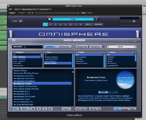 Omnisphere is probably the most festive synth I have, so it got hammered here