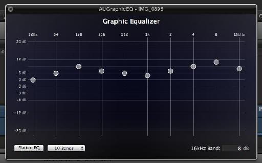 The new Graphic EQ in FCP X