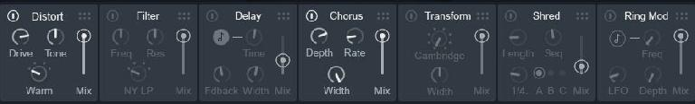 Drag and Drop Effects Chaining in VocalSynth2