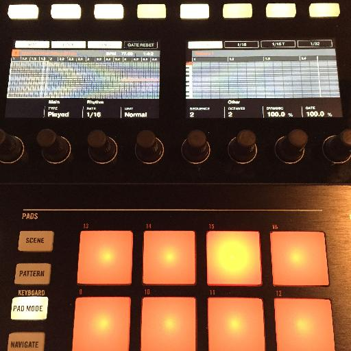 The new Hold function for Maschine's arpeggiator provides a new opportunity for live performance on Maschine.
