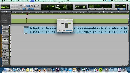 Mapping a tempo using the conductor track helps you line up audio that was recorded without a '˜click track'.