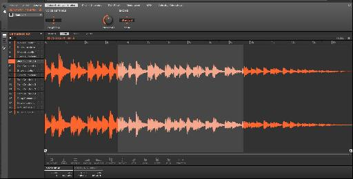 Sampling and editing audio is now a breeze.