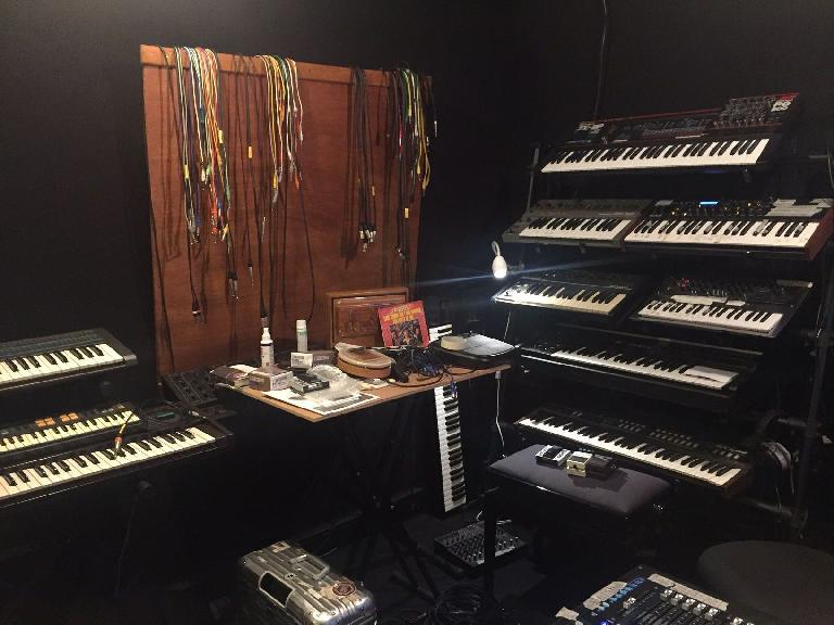 Part of Chloé's impressive synth collection