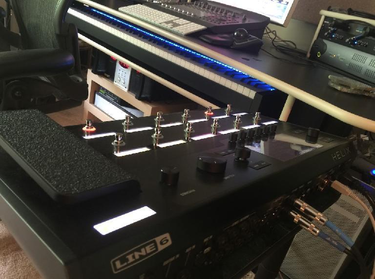 in the studio: Line 6 Helix