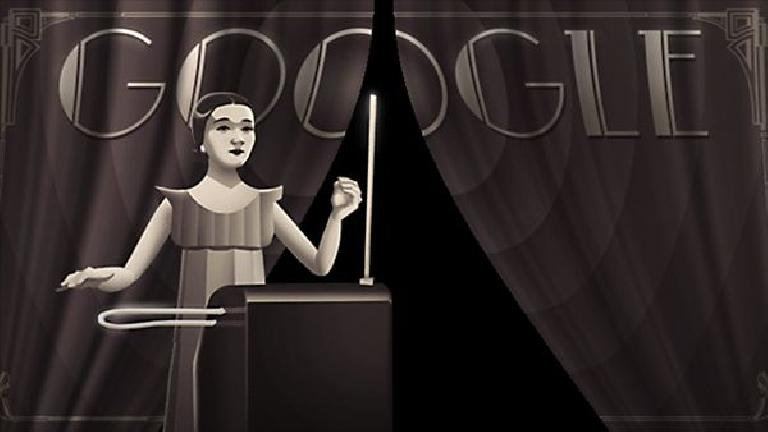http://www.google.com/doodles/clara-rockmores-105th-birthday