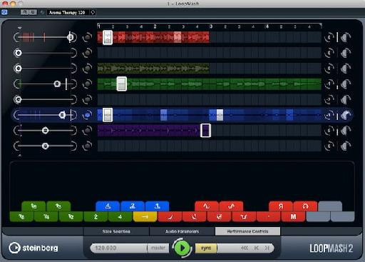 LoopMash2 in Cubase 6.