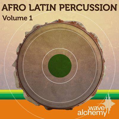 Wave Alchemy Afro Latin Percussion Vol 1