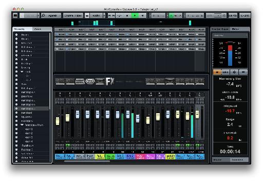 DAW mixers are really advanced, and Cubase 7 has one of the best around.