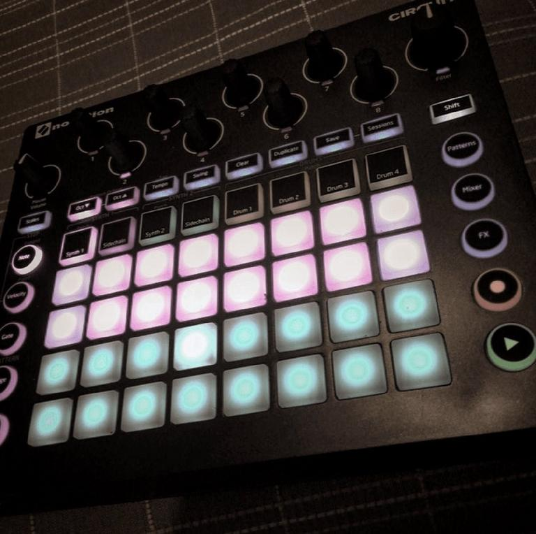 New Novation Machine that we can't talk about or reveal the name of... yet!