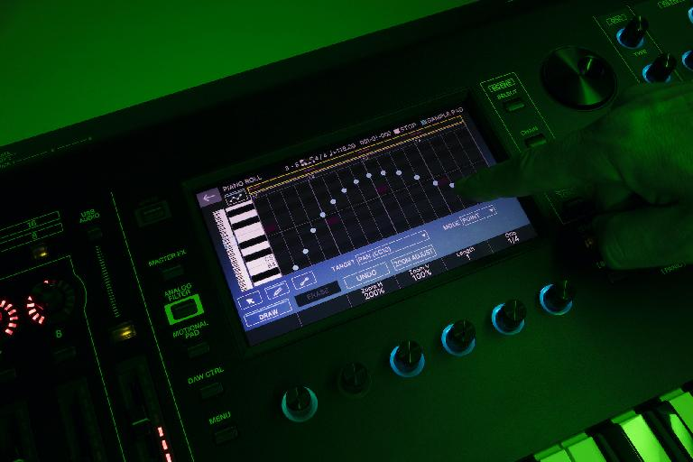 Roland Fantom 2.0  EQ screen