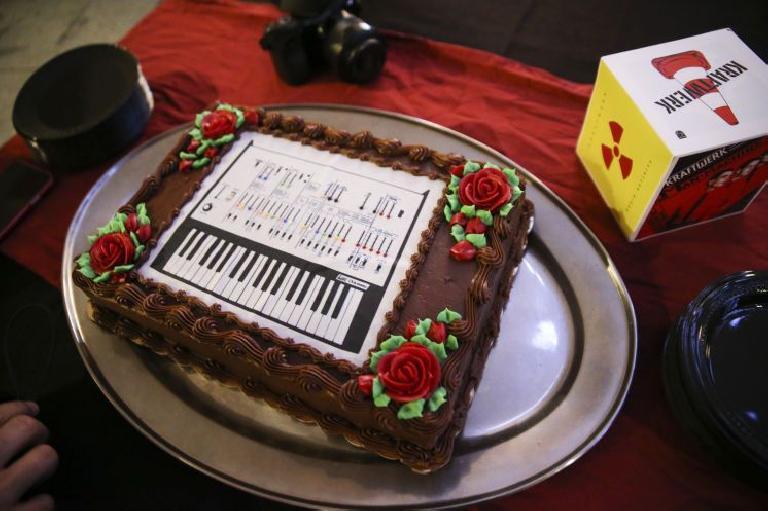 Korg ARP Odyssey synth cake