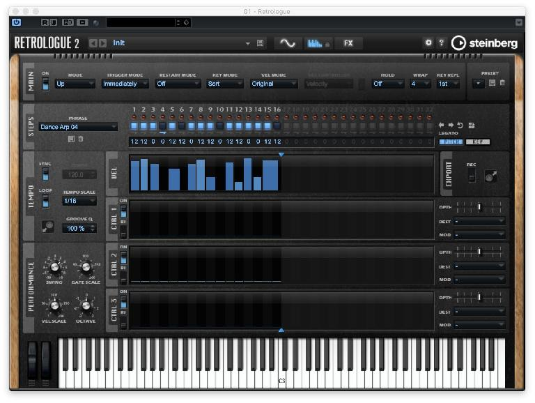 Try Out The Arpeggiator