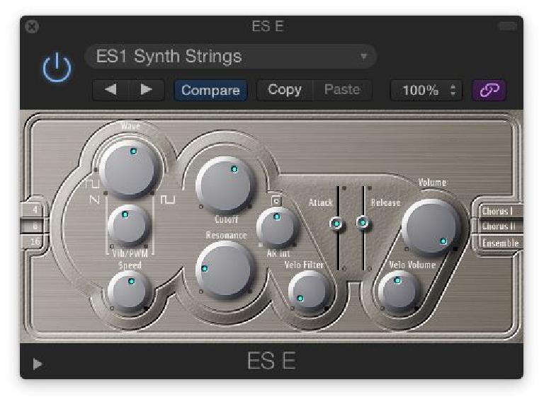 The ES E is great to create warm pad and ensemble sounds.