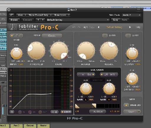 Many third party plug-ins have mix controls as well.