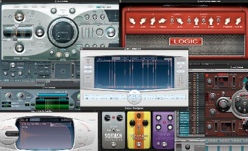 Logic 9 Instruments and Effects