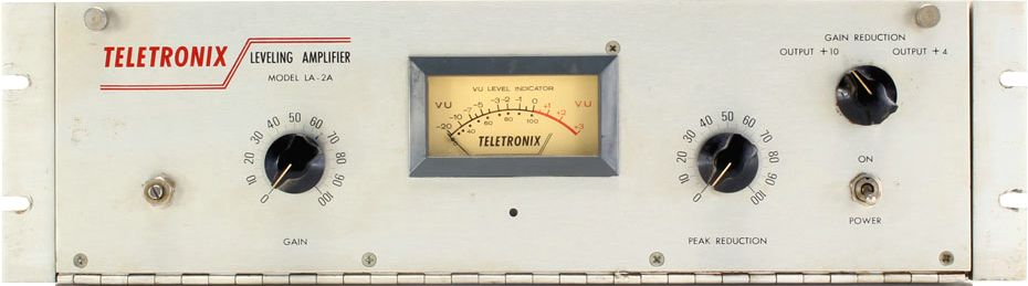 The Teletronix LA-2A opto-compressor