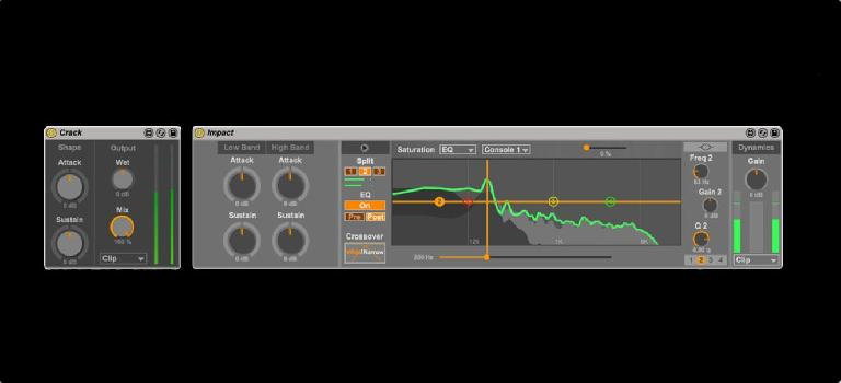 Transient Machines for Ableton Live
