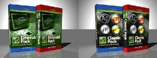 McDSP Emerald & Classic Packs.