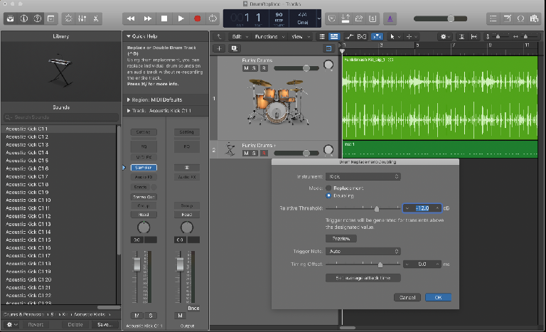 Logic Pro Drum replacement