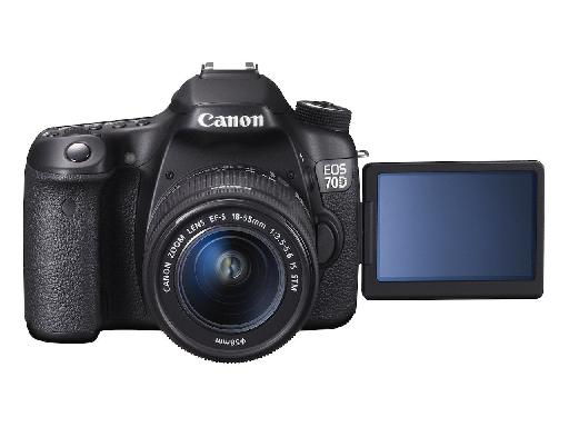 Canon's new EOS 70D has been much praised for its video performance.